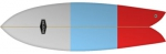 BUSTER - Retro Fish 6'4'' Surfboard