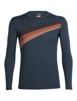 ICEBREAKER -  Men's Oasis Long Sleeve Crewe