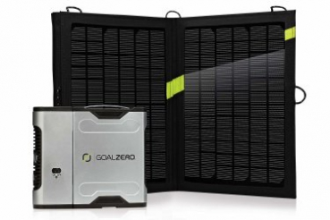 GOALZERO - Sherpa 50 Solar Recharging Kit