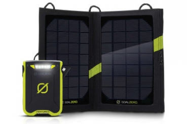 GOALZERO - Venture 30 Solar Recharging Kit