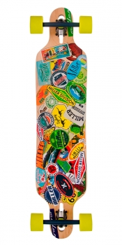 MILLER - Travel Stickers 38'' - Longboard